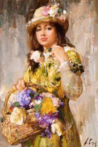 Flower Girl | Nikolai Blokhin